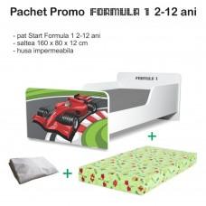 Pachet Promo Pat copii Formula 1 2-12 ani