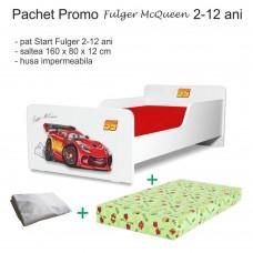 Pachet Promo Pat copii Fulger McQueen 2-12 ani
