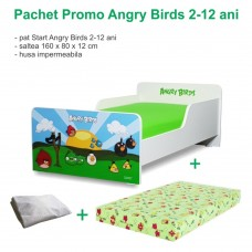 Pachet Promo Start Angry Birds 2-12 ani