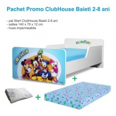 Pachet Promo Start ClubHouse Baieti 2-8 ani