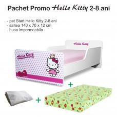 Pachet Promo Start Hello Kitty 2-8 ani