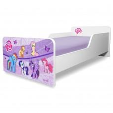 Pat copii  Pony 2-8 ani cu saltea cadou