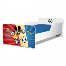Pat copii Start Start Fotbal Romania 2-8 ani cu saltea cadou