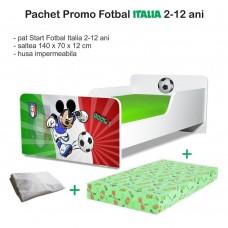 Pachet Promo Pat Copii Fotbal Italia 2-12 ani