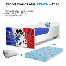 Pachet Promo Pat Copii Fotbal Franta 2-12 ani