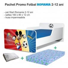 Pachet Promo Pat Copii Fotbal Romania 2-12 ani