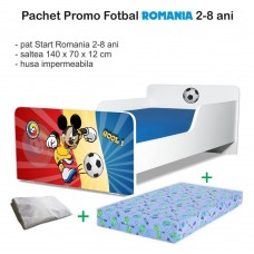 Pachet Promo Start Fotbal Romania 2-8 ani