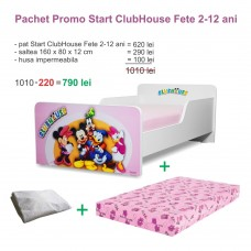 Pachet Promo Start ClubHouse Fete 2-12 ani