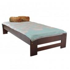 Pat din lemn  Moris 6, 90 x 200 cm, Cires
