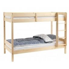 Pat lemn etajat Klein Natur, 80/80 x 200 x 160 cm