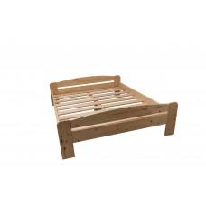 Pat din lemn Moris 160x200 Cm Maro