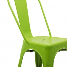 Scaun  Metalic Fin 4019 Verde