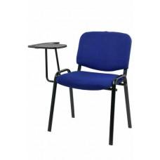 Scaun Conferinta cu masuta Fin 3780 Albastru