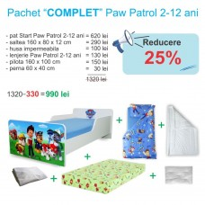 Pachet Promo Complet Start Paw Patrol 2-12 ani