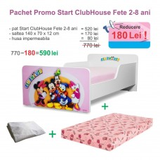 Pachet Promo Start ClubHouse Fete 2-8 ani