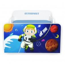 Pat copii Astronaut 2-12 ani cu saltea cadou