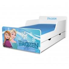 Pat copii Frozen 2-12 ani cu sertar