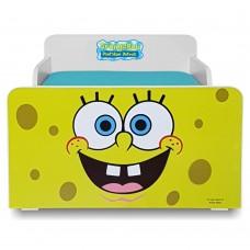 Pat copii  Sponge Bob 2-12 ani cu saltea cadou