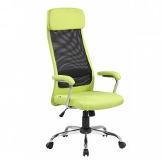 Scaun Directorial Fin 3324 Textil Verde