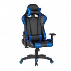 Scaun Gamer Fin 3408 Piele ecologica Albastru