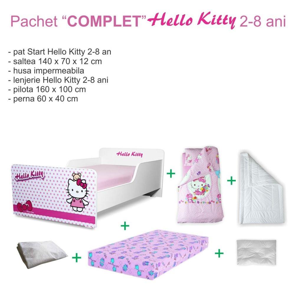 Pachet Promo Complet Start Hello Kitty 2-8 ani
