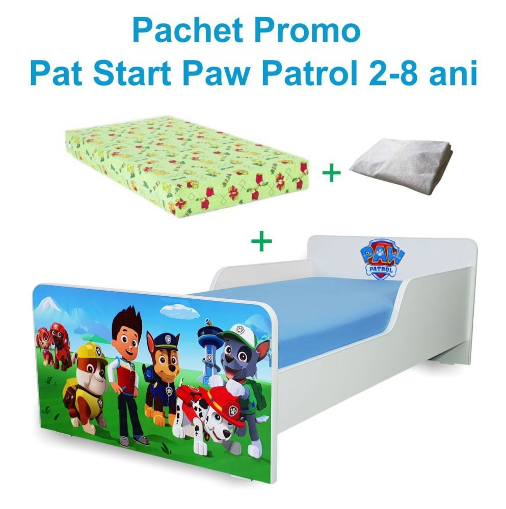Pachet Promo Start Paw Patrol 2-8 ani