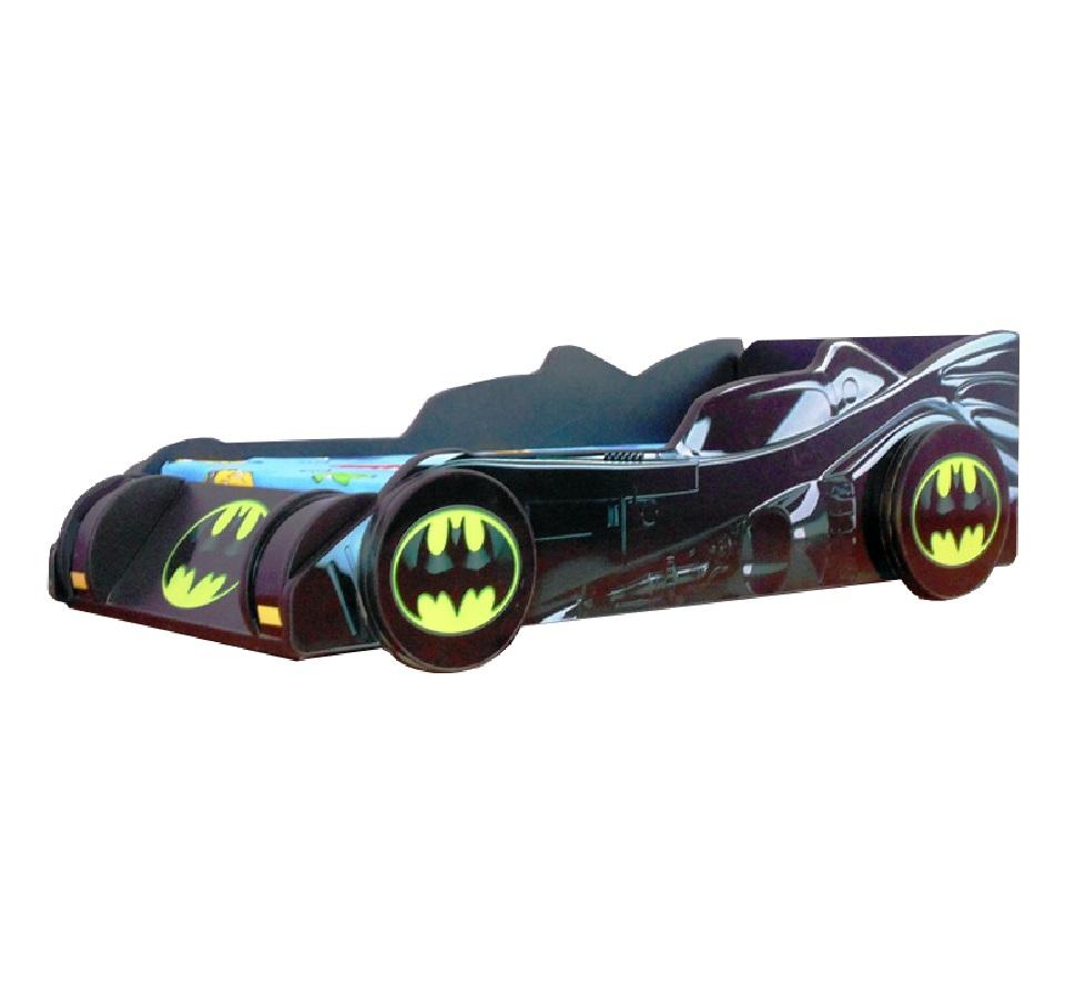 Pat copii Batmobil 140x70 Cm cu saltea